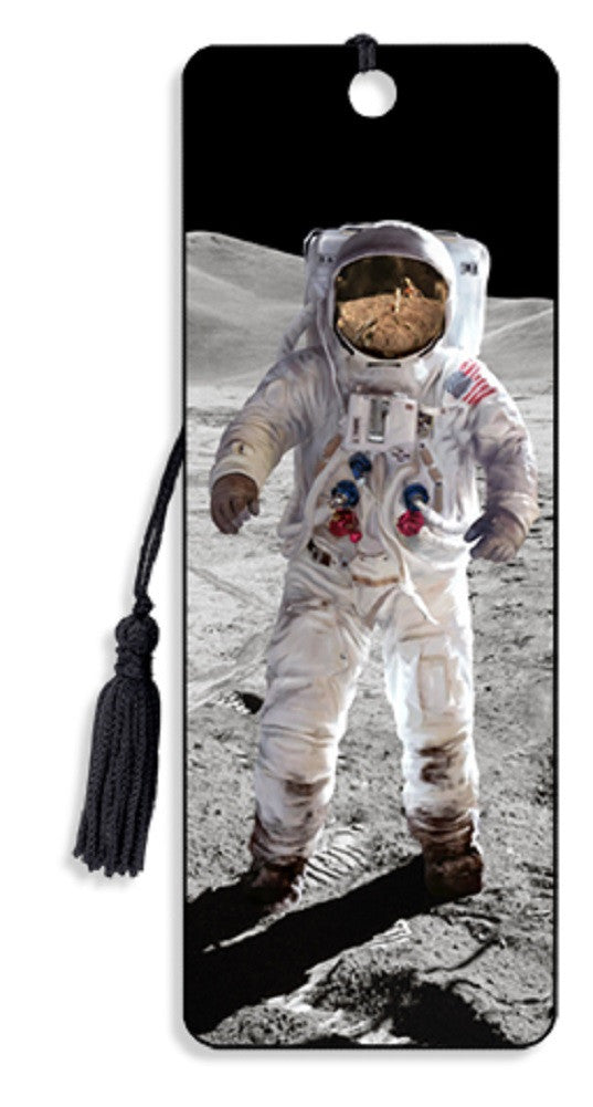 Astronaut Moon Walk 3D Motion Lenticular Bookmark by Artgame - Off The Wall Toys and Gifts