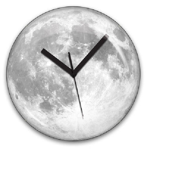 Clair De Lune Moonlight Glow in the Dark Clock