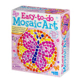 Easy To Do Mosaic Art Butterfly 4M Art / Craft Kit by Toysmith