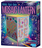Make Your Own Light Up Mosaic Lantern 4M Kit - Off The Wall Toys and Gifts