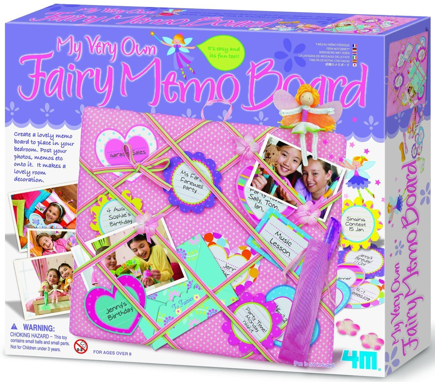 My Very Own FAIRY MEMO Board; 4M Kit - Off The Wall Toys and Gifts