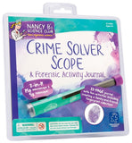 Nancy B's Science Club Crime Solver Scope & Forensic Activity Journal - Off The Wall Toys and Gifts