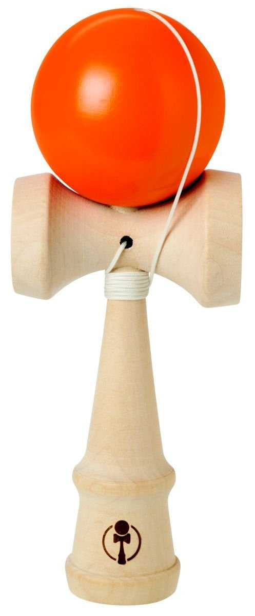 NEON KENDAMA Wooden Ball Catch Game - Super Bright Colors Vary - Off The Wall Toys and Gifts