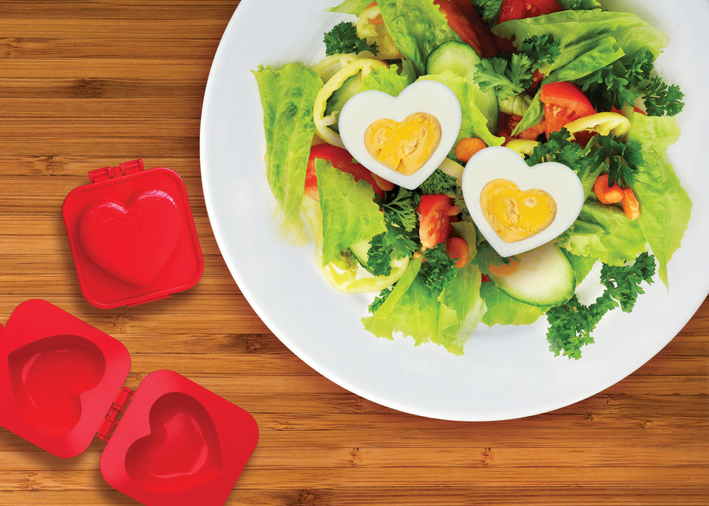 Eggspress Heart Shaped Boiled Egg Mold