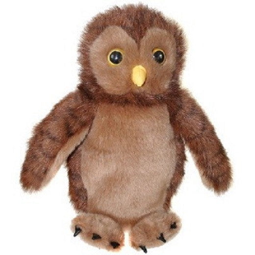 CarPet 10 Inch Glove Puppet - OWL - Collectible Hand Puppet Character