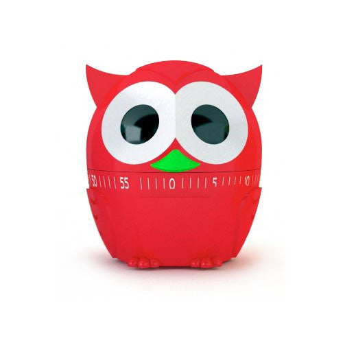 Owlet 60 Minute Kitchen Timer-Red - Off The Wall Toys and Gifts