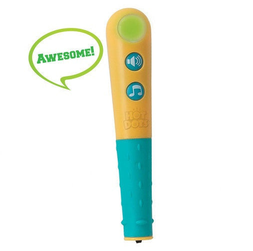 Talking Hot Dots Pen: Lights Up & Plays Sound Effects - Off The Wall Toys and Gifts
