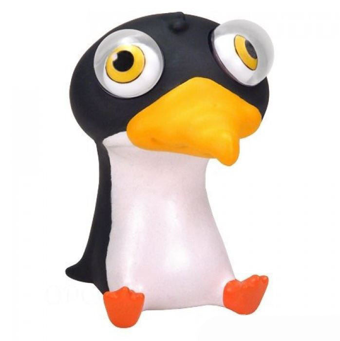 Poppin' Peeper Penguin Stress Relief Squeeze Toy - Off The Wall Toys and Gifts