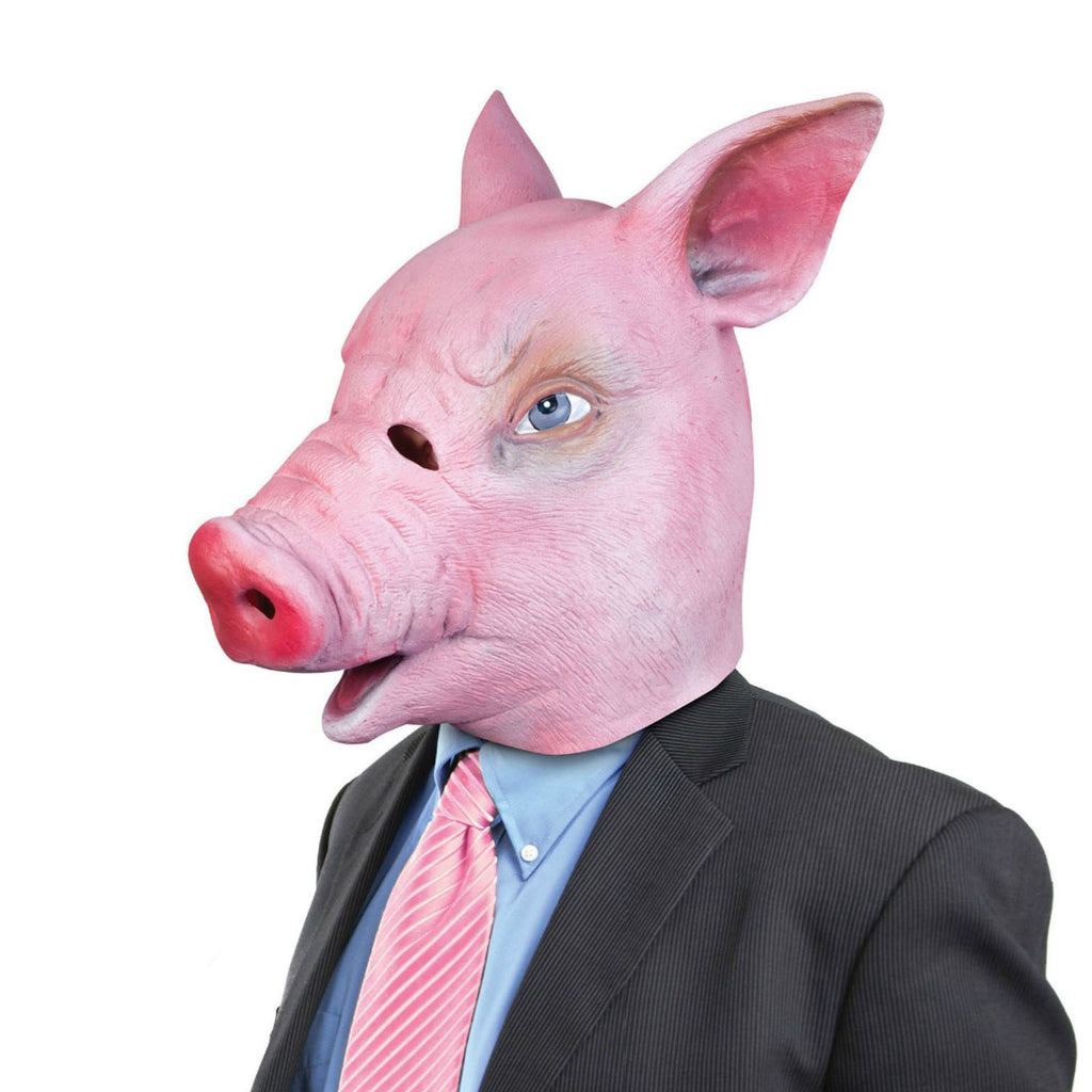 Creepy Pig Mask - Realistic Latex Halloween Mask