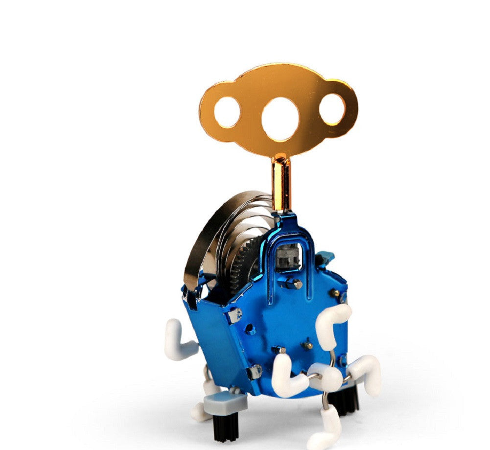 Ping Ling Wind-up Mechanical Gear Robot Novelty Toy (Colors Vary) - Off The Wall Toys and Gifts