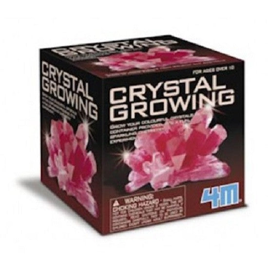 4M Crystal Growing Chemistry Experiment Kit - Red