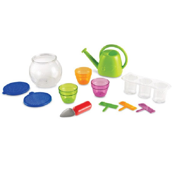 Plant and Grow Observation Set - 12 Piece Introductory Children Gardening Set - Off The Wall Toys and Gifts
