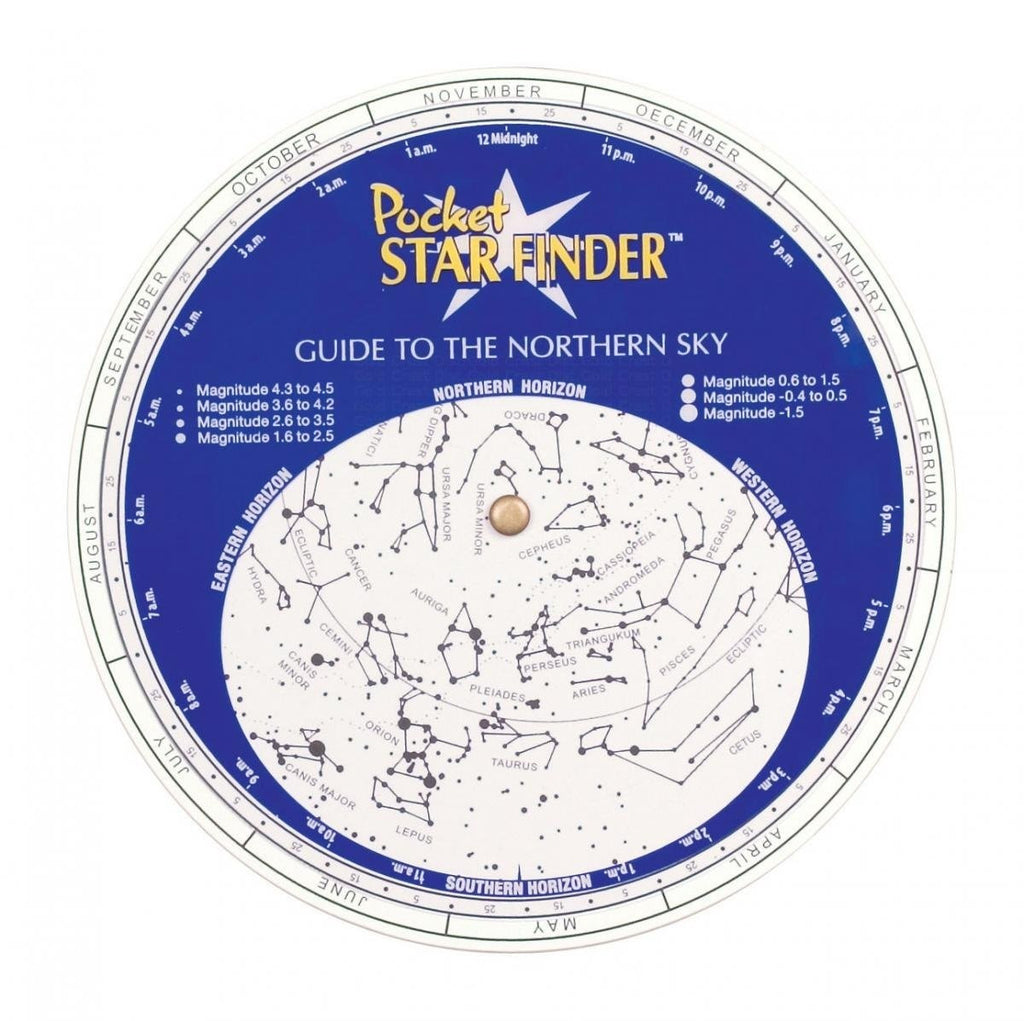 The Pocket Star Finder Explore the Stars Includes Night Vision Filter