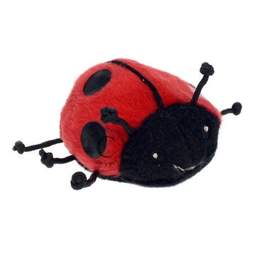 Finger Puppet - Red Ladybird - Ladybug - Off The Wall Toys and Gifts