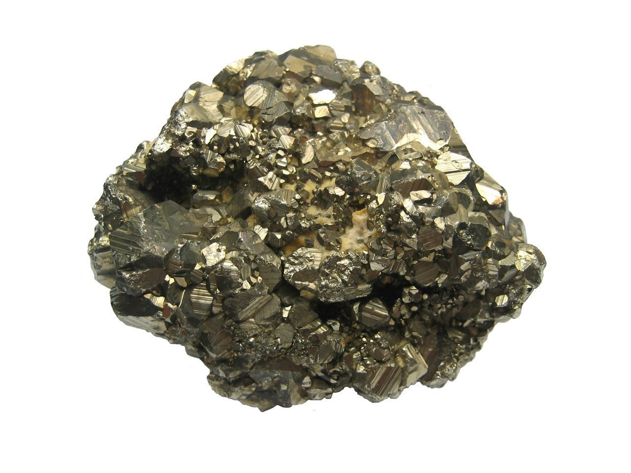 Fool's Gold Specimen 1.5 - 2 Inches Pyrite Mineral Rock with Info Card - Off The Wall Toys and Gifts