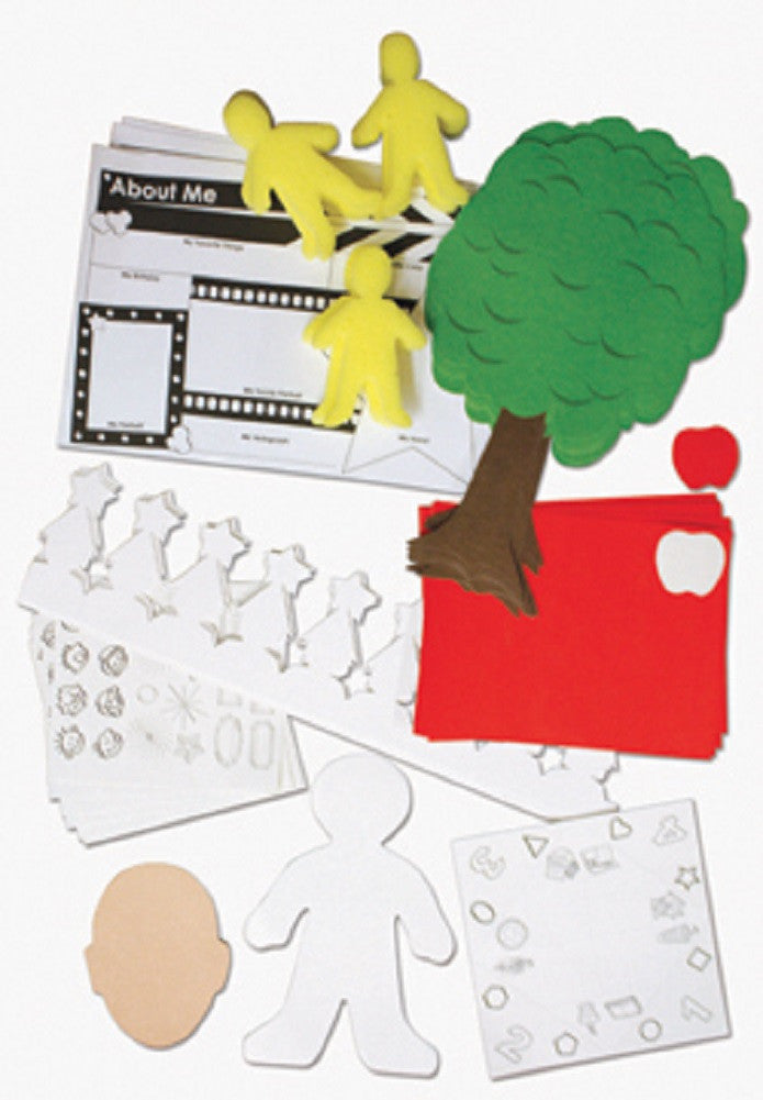 7 About Me Activities Classroom Kit by Roylco - Off The Wall Toys and Gifts
