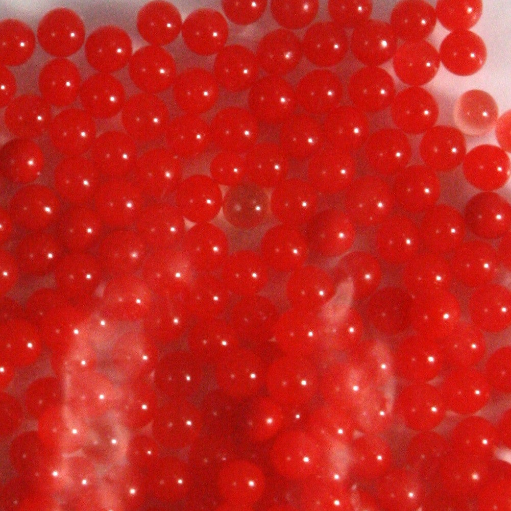 Red Rainbow Water Beads Growing Polymer Gel Balls-1 Pound - Off The Wall Toys and Gifts