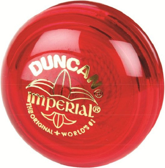 Genuine Duncan Imperial Yo-Yo Classic Toy - Red - Off The Wall Toys and Gifts