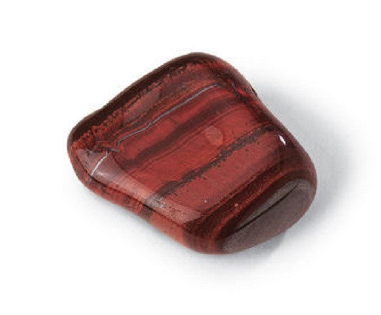 GeoCentral - Red Tiger Eye Rock Mineral Specimen - Tumbled  w Info Card - Off The Wall Toys and Gifts