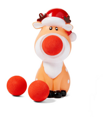 Cheer! Holiday Reindeer Ball Popper