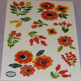 Mrs. Grossman's Stickers Collaged Rosehips - Off The Wall Toys and Gifts