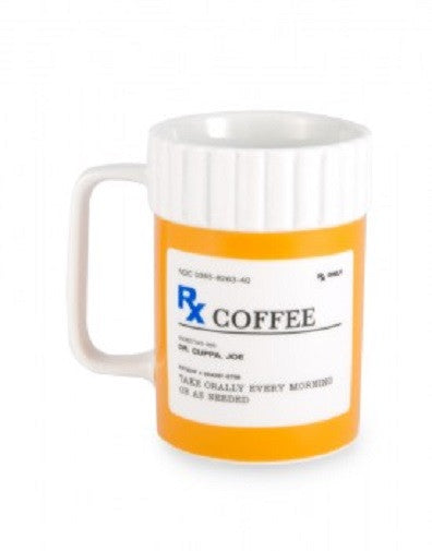 Ceramic RX Coffee Mug - Tea Cup - Off The Wall Toys and Gifts
