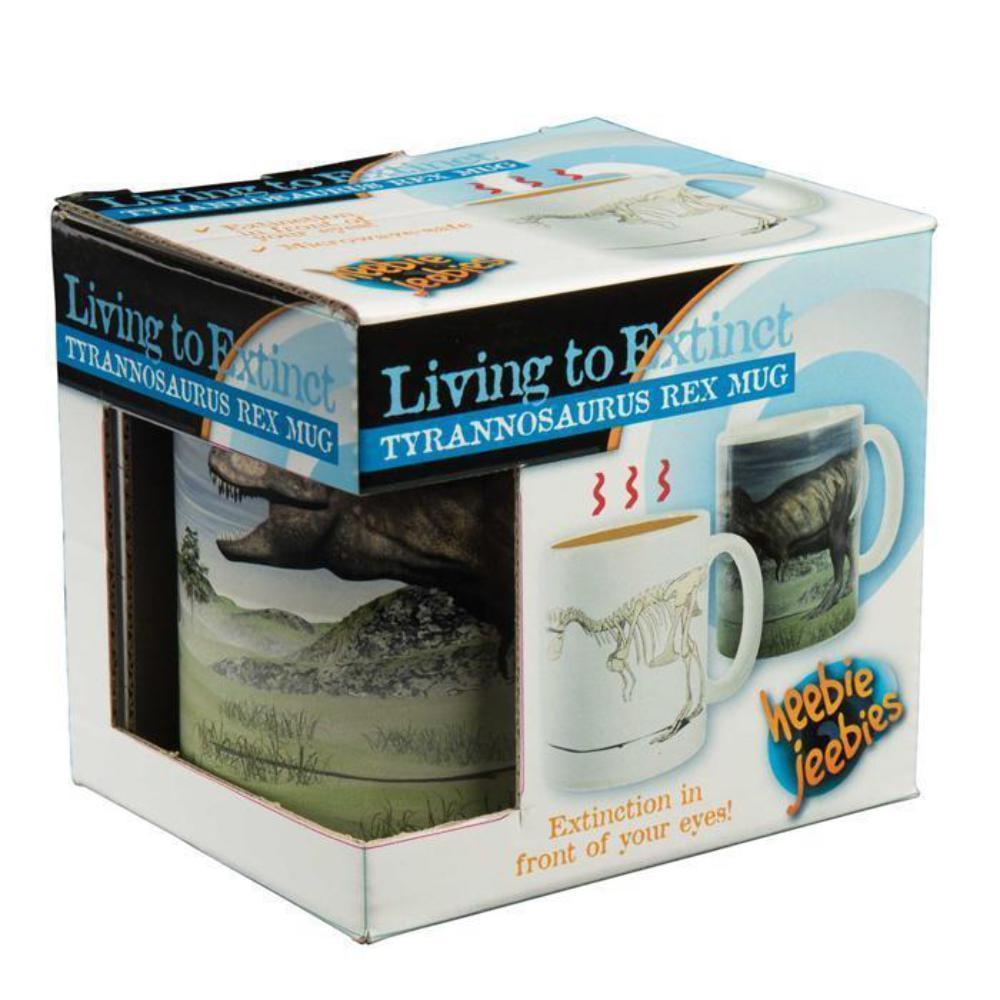 Living to Extinct Tyrannosaurus Rex Coffee & Beverage Mug