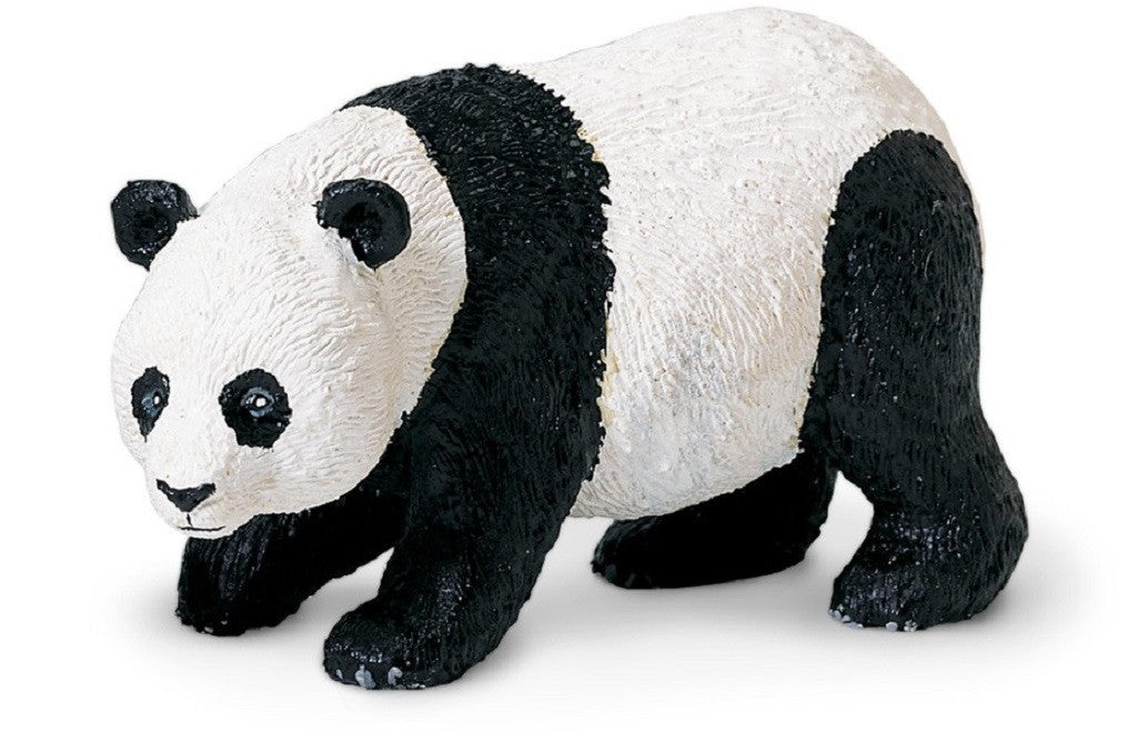 Panda - Lifelike Rubber Bear - Wildlife Replica 4.5 Inches - Off The Wall Toys and Gifts
