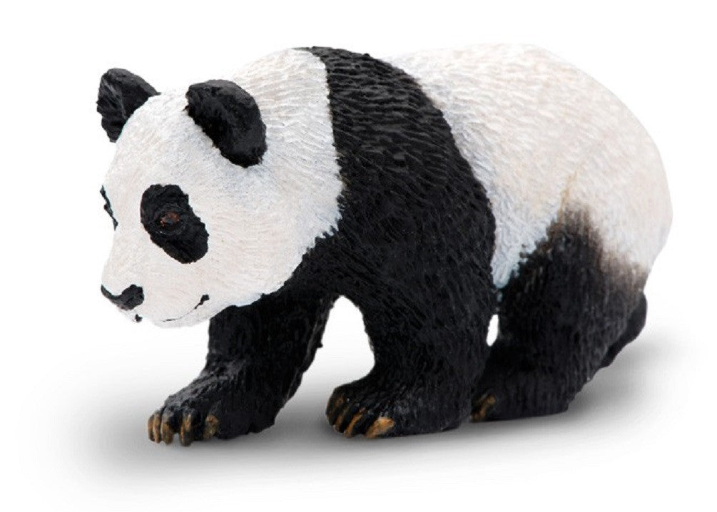 Panda Cub - Lifelike Rubber Bear - Wildlife Replica 2.5 Inches - Off The Wall Toys and Gifts