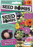 Cut Flowers Mixture Seed Bomb Pack, w/6 Seed Bombs - Grow & Cut Your Own Flowers - Off The Wall Toys and Gifts