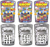 Magic Grow Capsules - Instant Foam Shapes - Set #2 - Bugs, Dinosaurs, Sea Animals - Off The Wall Toys and Gifts