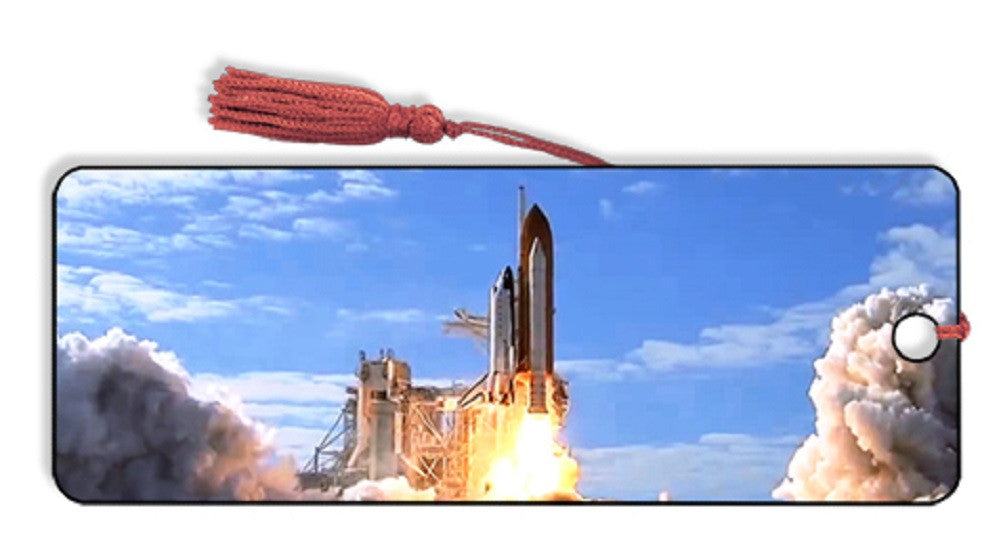Space Shuttle Launch 1 Motion 3D Lenticular Bookmark by Artgame