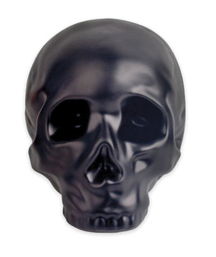 Black Ceramic Skull Money Bank - Off The Wall Toys and Gifts
