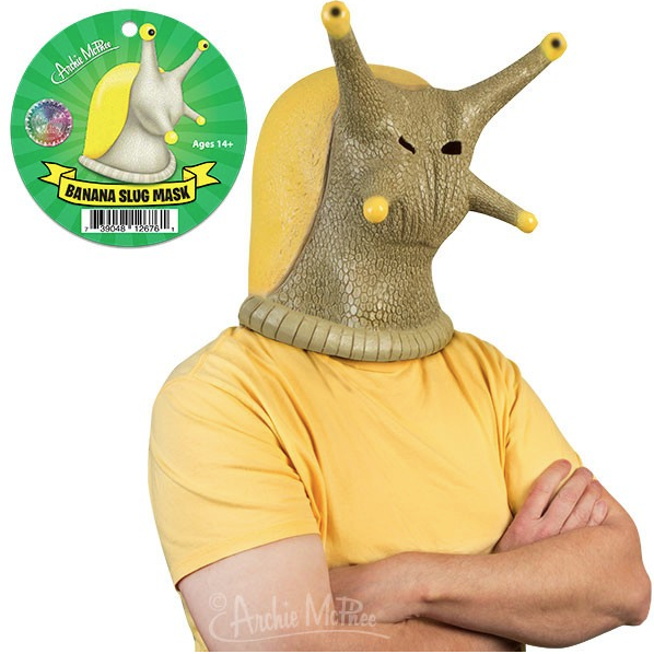 Banana Slug Mask by Accoutrements