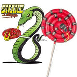 Snake Shaped Sucker-Cinnamon Flavored Candy Lollipop - Off The Wall Toys and Gifts