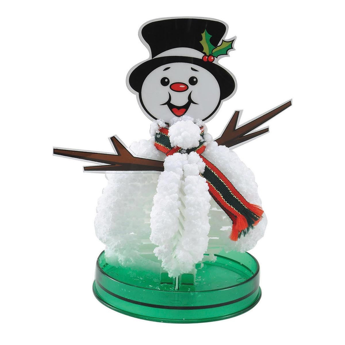 Amazing Crystal Growing Kit - Magic Grower Snowman - Off The Wall Toys and Gifts
