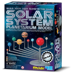 3-D Solar System Planetarium  Glow-In-The-Dark Model by 4M - Off The Wall Toys and Gifts