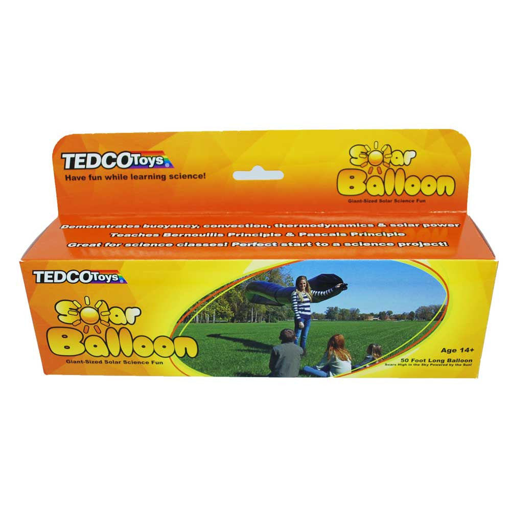 Giant Solar Balloon 50 Feet Long - Off The Wall Toys and Gifts