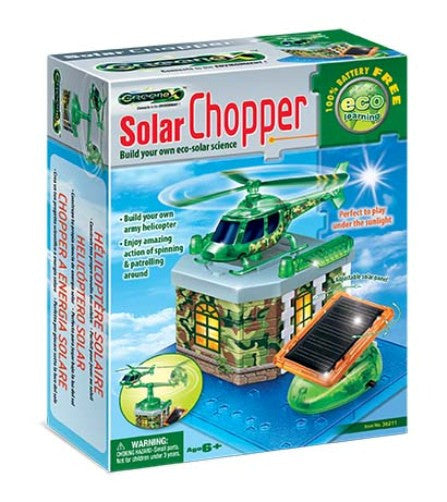 Greenex Build Your Own Solar Helicopter - Off The Wall Toys and Gifts
