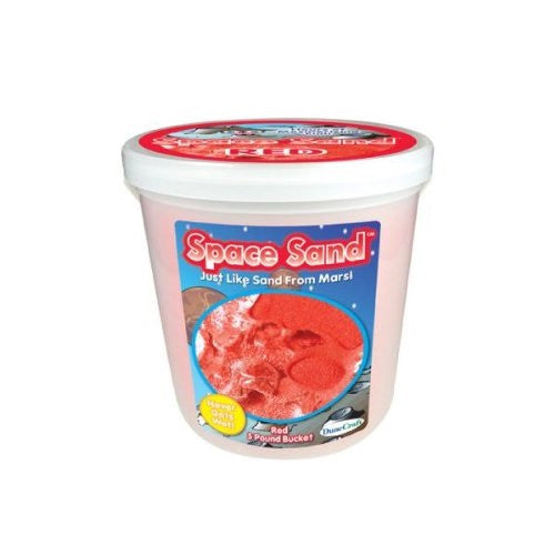 Amazing Science Bucket 5lb Space Sand Red