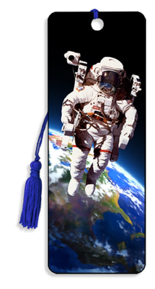Astronaut Space Walk 3D Motion Lenticular Bookmark by Artgame