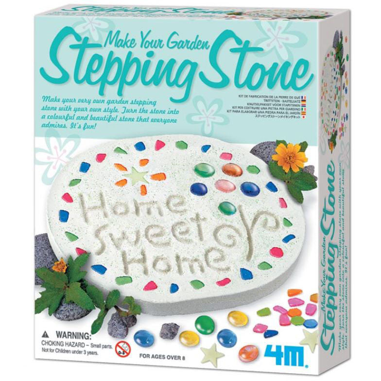 Make Your Garden Stepping Stone 4M Kit By Toysmith