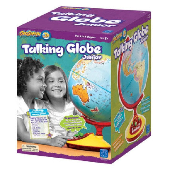 Talking World Globe 12 Inches by Geosafari Jr. - Off The Wall Toys and Gifts
