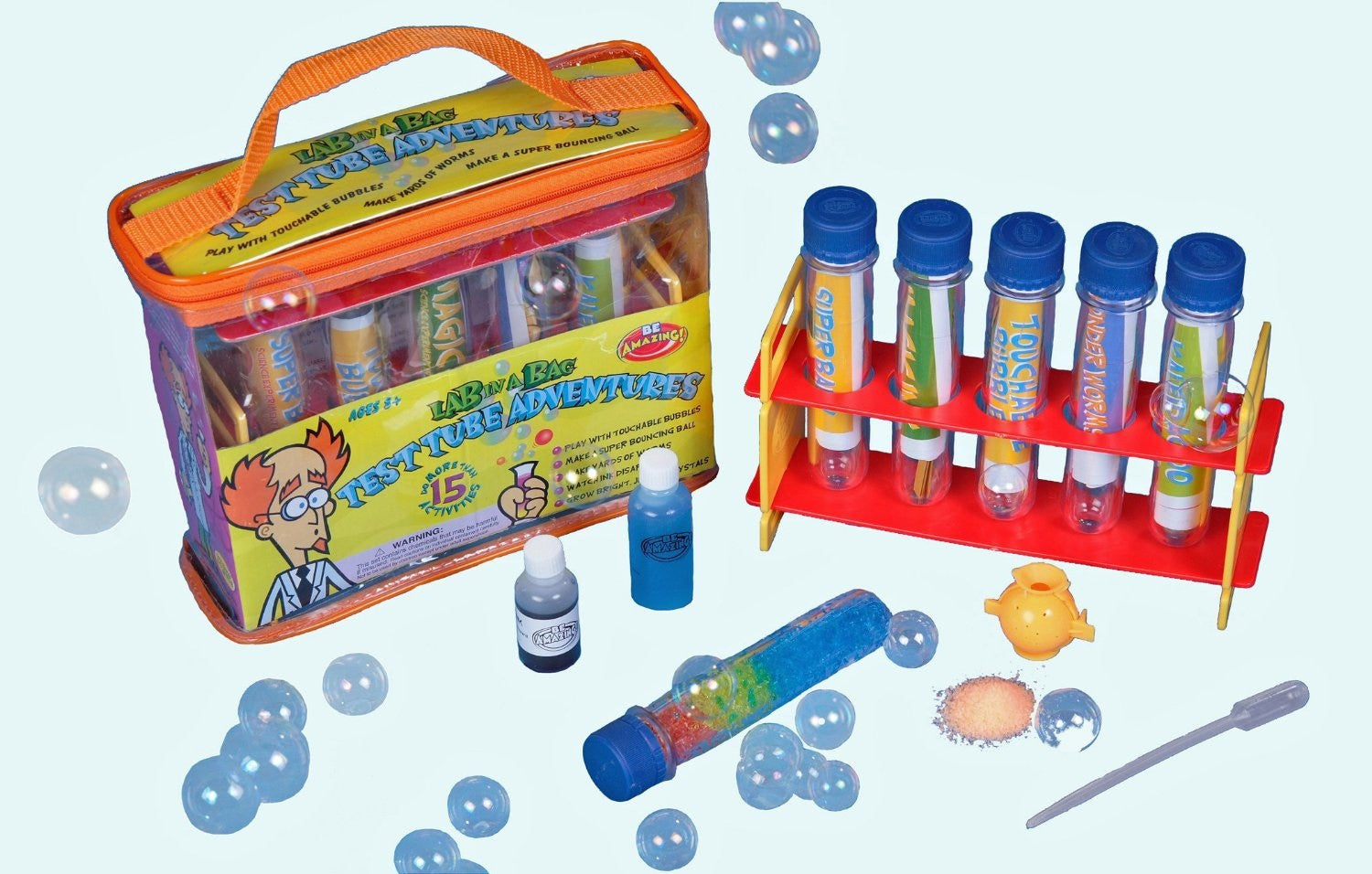 Be Amazing! Test Tube Adventures Science Activity Kit - Off The Wall Toys and Gifts