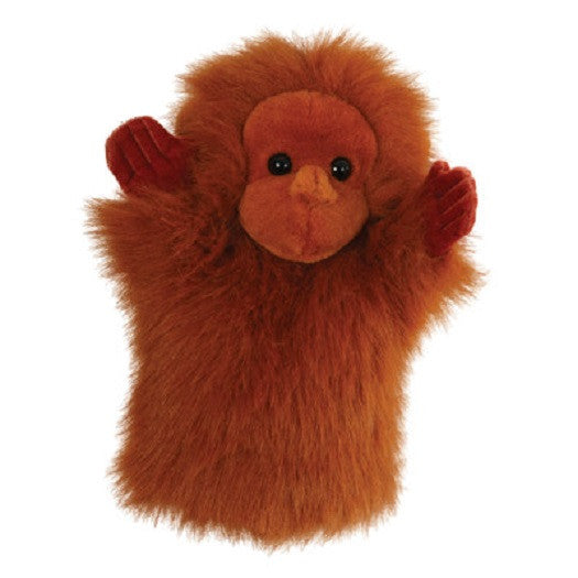 CarPet 10 Inch Glove Puppet - ORANGUTAN - Collectible Hand Puppet Character - Off The Wall Toys and Gifts