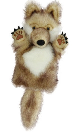 CarPet 10 Inch Glove Puppet - WOLF - Collectible Hand Puppet Character
