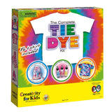 Kids Complete Tie Dye Kit - Includes T-Shirt - Off The Wall Toys and Gifts