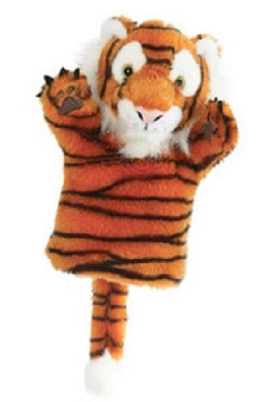CarPet 10 Inch Glove Puppet - TIGER - Collectible Hand Puppet Character