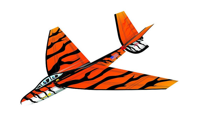 25 Inch FlexWing Glider - F-18 Hornet w/NATO Tiger Stripes Pattern - Off The Wall Toys and Gifts