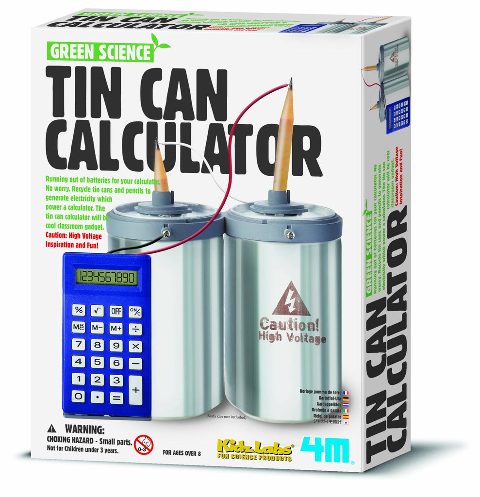 4M Green Science - Tin Can Calculator Kit